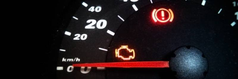 check engine light is blinking